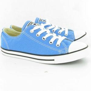 Converse Light Blue Low Top Kids Sneakers